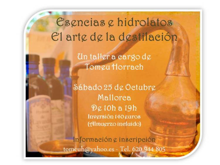 poster curso destilacion TH